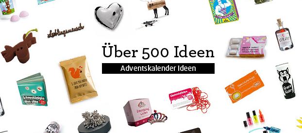 Ideen zum Adventskalender befüllen von design3000