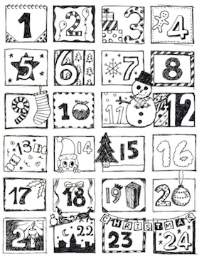 125 Ideen um einen selbstgemachten Adventskalender zu befüllen