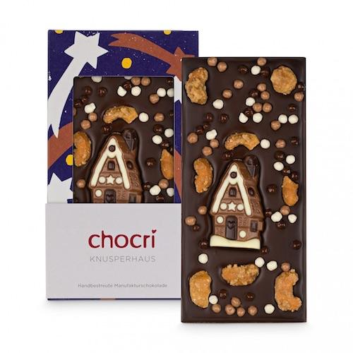 Günstiges Wichtelgeschenk: Weihnachtsschokolade von chocri