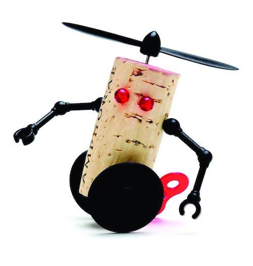 Wichtelgeschenkidee: Korkroboter