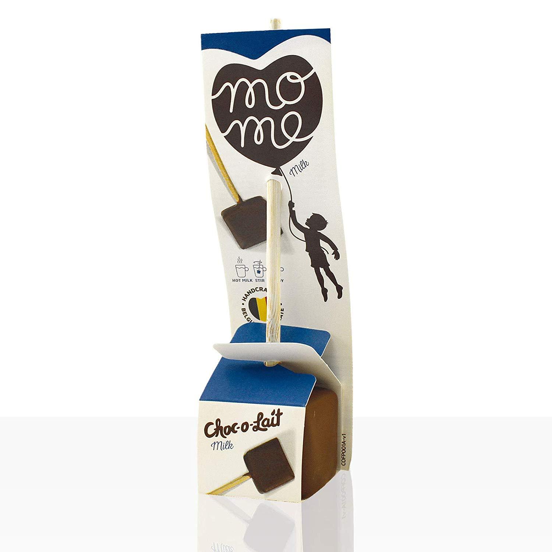 Günstiges Wichtelgeschenk: Trinkschokolade am Stiel