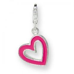 Geschenkidee für Sie: Herz-Charm-Anhänger von Rafaela Donata