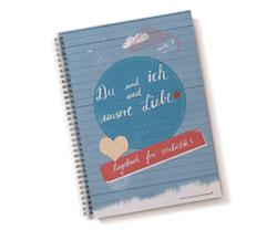 Originelles Valentinsgeschenk: Tagebuch für Verliebte