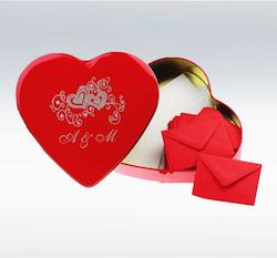 Valentinsgeschenk für Männer: Losbox zum Liebeslose basteln