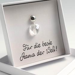 Muttertagsgeschenk unter 10 Euro: Herz-Charm-Anhänger