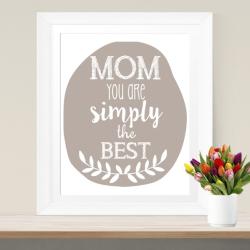 Last-Minute-Geschenk zum Muttertag: Poster zum Ausdrucken