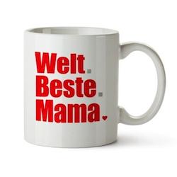 Muttertagsgeschenk unter 10 Euro: Tasse