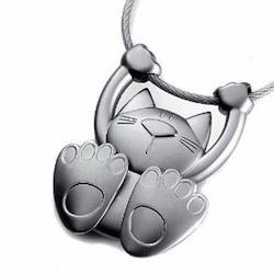 Geschenkidee für Katzenfreunde: Schlüsselanhänger