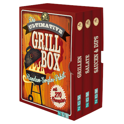 Wichtelgeschenke für Männer: BBQ Kochbox mit 270 Grillrezepten