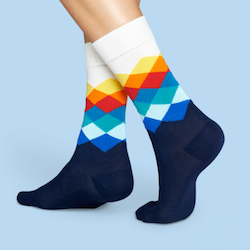 Wichtelgeschenkidee: Lustige Socken
