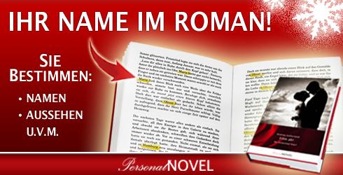 Verschenk einen personalisierten Roman von PersonalNOVEL