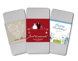 Schokoladen-Geschenk in personalisierter Verpackung