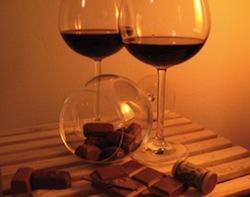 Geschenkidee für Schokoholics: Schokolade & Wein Tasting