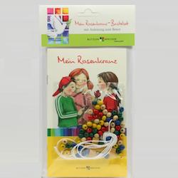 Geschenkidee zur Kommunion: Rosenkranz Bastelset