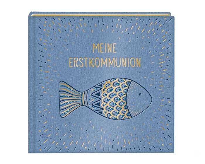 Eintragalbum zur Erinnerung an die Erstkommunion