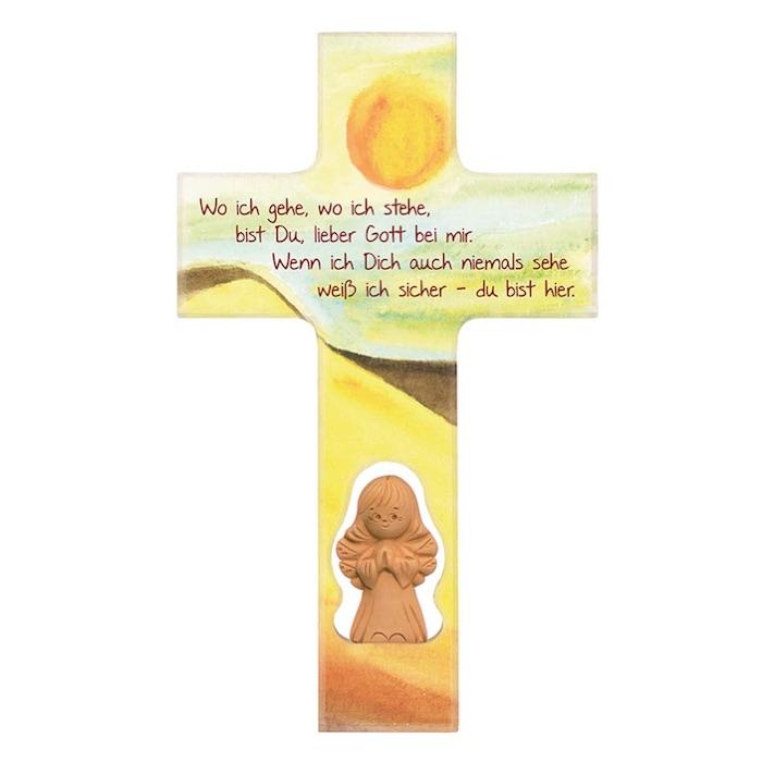 Geschenkidee zur 1. heiligen Kommunion: Kinderkreuz