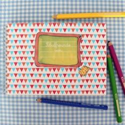 Geschenkidee zum Schulanfang: Freundebuch für Grundschulkinder