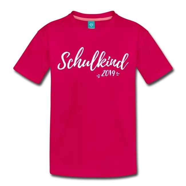 Geschenk zur Einschulung: Schulkind 2019 T-Shirt