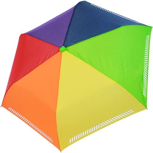 leichter Kinder-Regenschirm mit Reflektor-Streifen