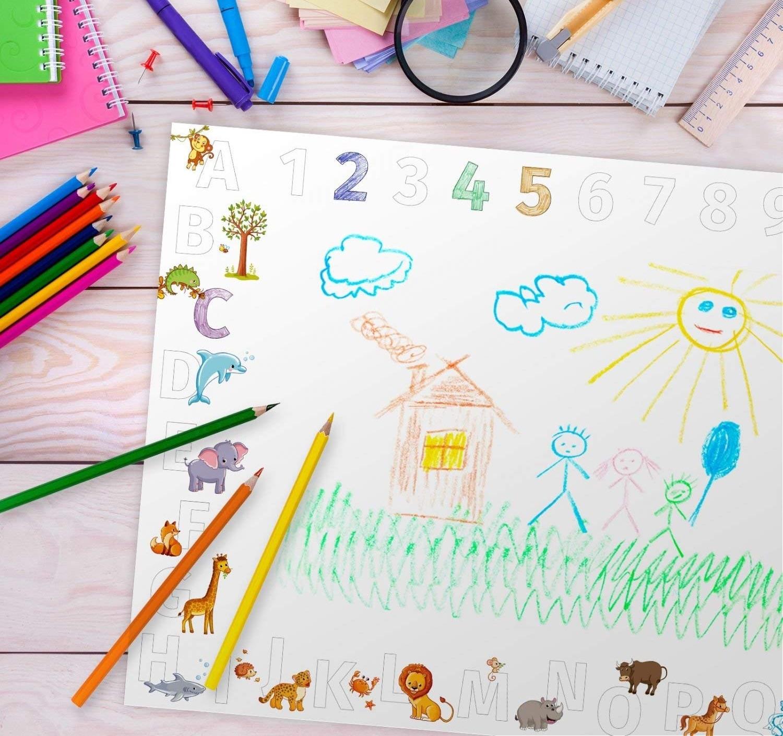 Schreibtischunterlage für Kinder (A2-Format)