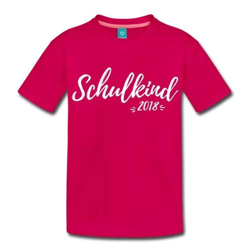 Schulkind 2018 Shirt