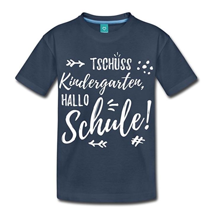 Geschenkidee für die Schultüte: Einschulungs-T-Shirt