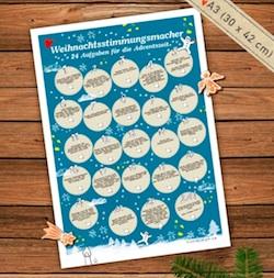 Origineller Adventskalender: Weihnachtsstimmungsmacher