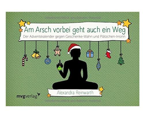 """Originelle Adventskalender: """"Am Arsch vorbei"""" - Adventskalender für Weihnachtsmuffel"""