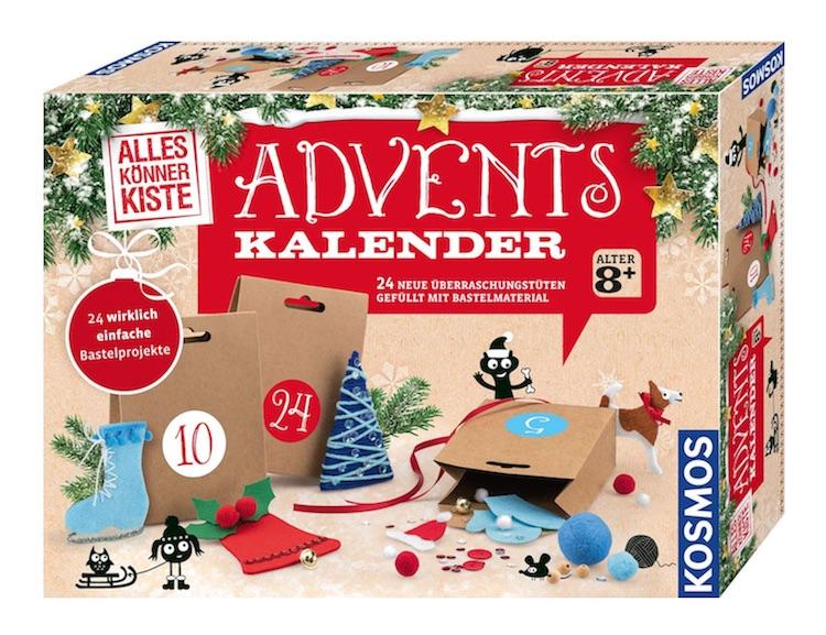 Adventskalender ohne Schokolade: Bastel Adventskalender für Kinder ab 8 Jahre