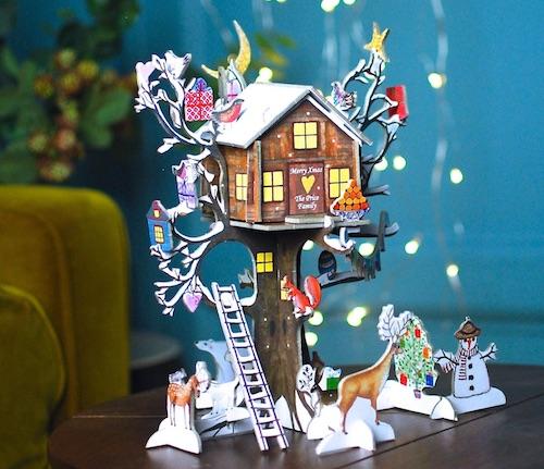 Personalisierter Baumhaus Adventskalender