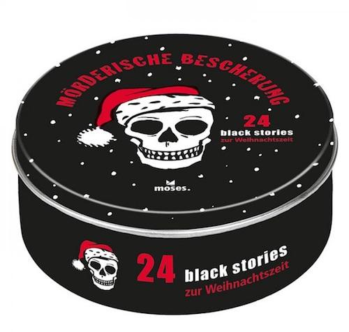 """Anti-Adventskalender: black stories Adventskalender """"Mörderische Bescherung"""""""