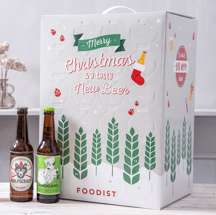 Bier Adventskalender 2019 von Foodist