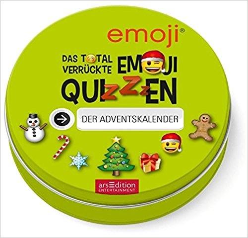 Originelle Adventskalender ohne Schokolade: emoji Quiz Adventskalender