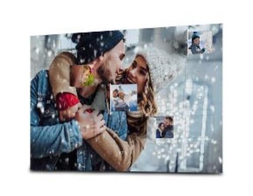 Adventskalender gefüllt mit eigenen Fotos & Text