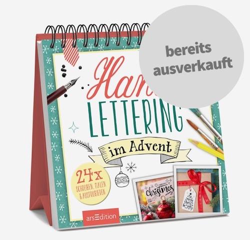 Handlettering im Advent - Kreativer Adventskalender