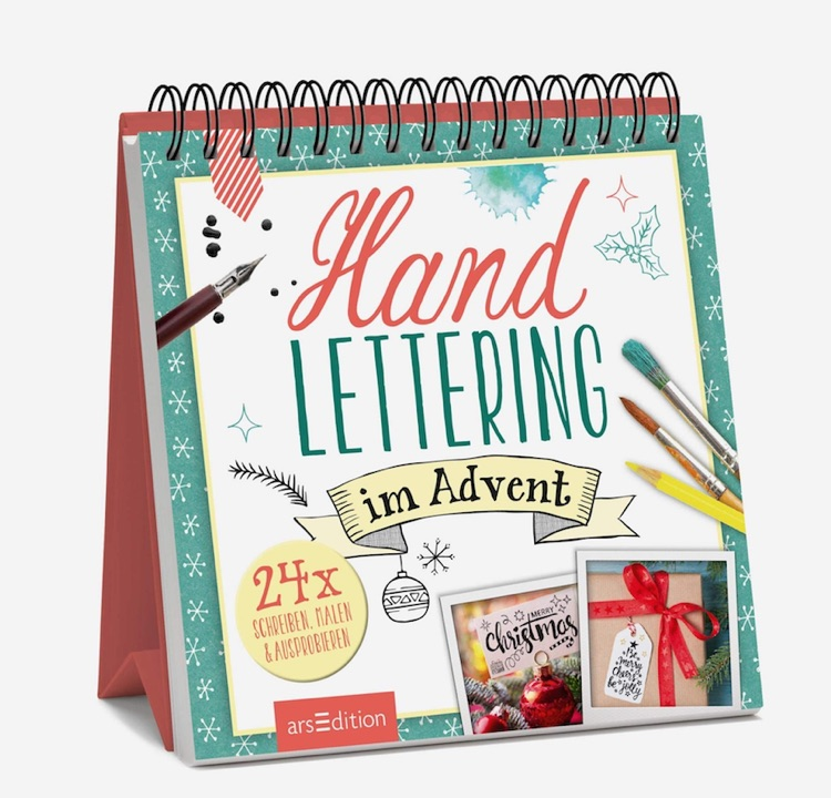 Handlettering im Advent - Kreativer Adventskalender