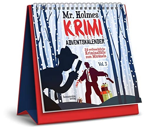 Originelle Adventskalender ohne Schokolade: Mr Holmes Krimi-Adventskalender 2019