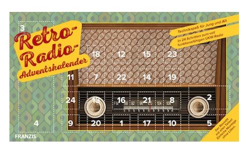 Retro-Radio Adventskalender - in 24 Tagen zum selbstgebauten UKW Radio