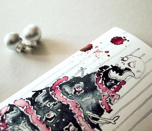Zombie Adventskalender für Erwachsene