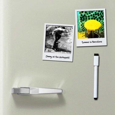 Geschenkidee für Mama: magnetische Fotorahmen