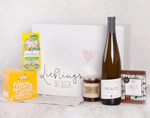 Geschenkidee für Mama: Lieblingsmensch Food Box