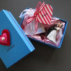 Geldgeschenk zur Hochzeit: Geschenbox Mitgift