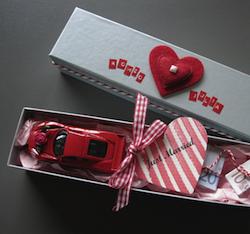 Geldgeschenk zur Hochzeit: Just Married Auto