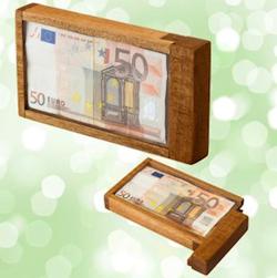 Magische Box als Geldgeschenk Verpackung