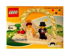Lustige Hochzeitsgeschenke: Lego Mini Brautpaar