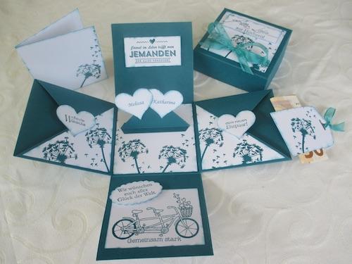 Geldgeschenk Karte.Geldgeschenke Zur Hochzeit Geld Kreativ Verpacken