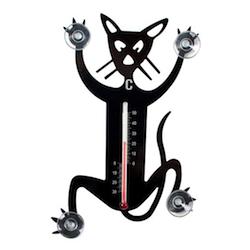 Wichtelgeschenkidee: Katzen-Thermometer