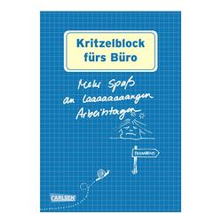 Wichtelgeschenke für Kollegen: Kritzelblock fürs Büro