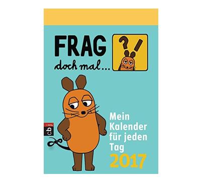 Wichtelgeschenk für Kinder: Maus Kalender 2017
