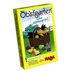 Wichtelgeschenke für Kinder: Mitbringspiel Obstgarten